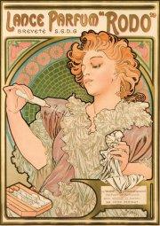 Alfons Mucha, Lance parfum Rodo, 1896, Richard Fuxa Foundation
