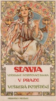 Alfons Mucha, Slavia, 1907, Richard Fuxa Foundation
