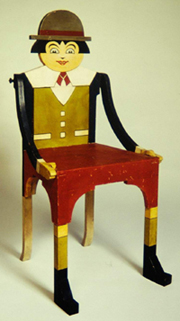 Antonio Rubino, Chair, 1921 c.